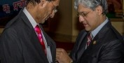 Cardiologist V Rambihar receives Queen's Golden Jubilee Medal