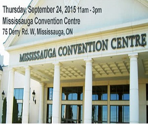 Mississauga Convention Centre pic with date